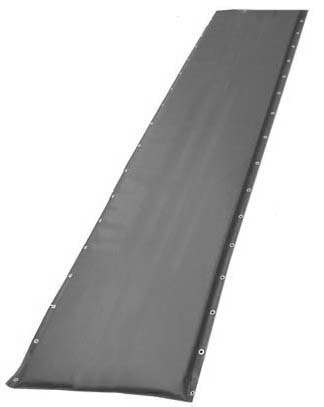 "20"" Black Protective Post Pad (For Posts 2.75"" to 4"")"
