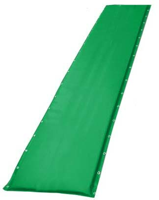 """20"""" Green Protective Post Pad (For Posts 2.75"""" to 4"""")"""