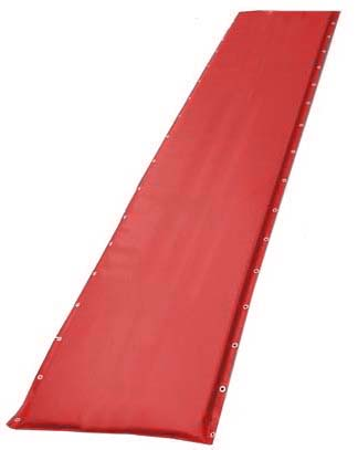 "20"" Red Protective Post Pad (For Posts 2.75"" to 4"")"