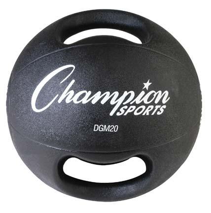 20 lb. Double Grip Medicine Ball