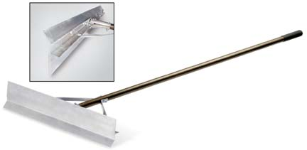 "24"" Magnum Lute Rake from Standard Golf"