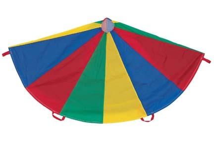 24 ft. Multi-Colored Parachute