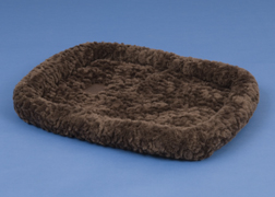 2661-75565 SnooZZy Crate Bed 5000 - 45 x 32 Inch - Chocolate Cozy