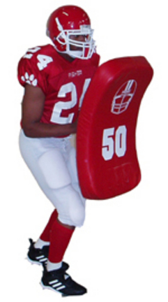 "30"" Curved Football Body Shield"