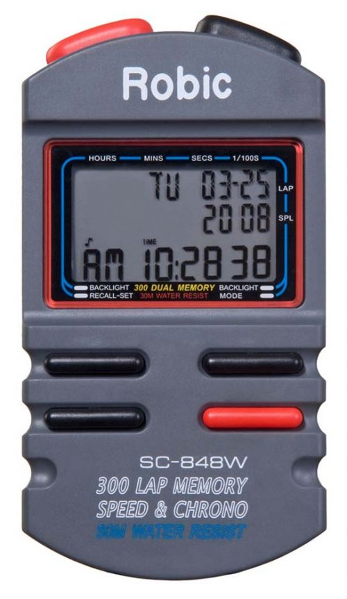 300 Memory Chronograph Stopwatch from Robic