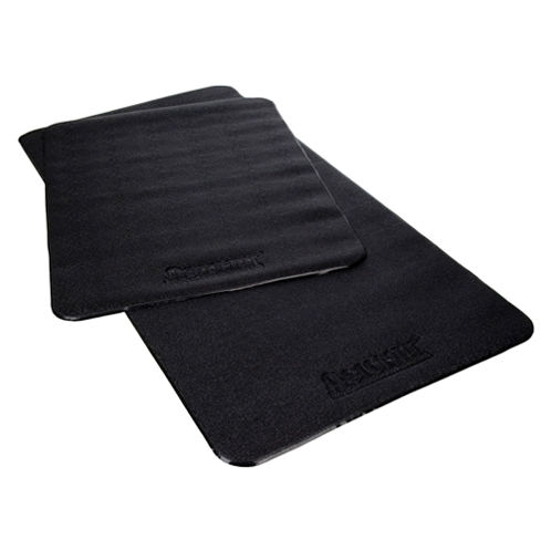 36 in.D Varnish Surface Treadmill Mat- Black