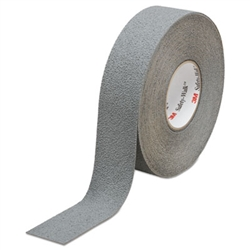 3M MMM19321 Safety-Walk Slip-Resistant Medium Resilient Tread Rolls Gray - 1 in. x 60 ft.
