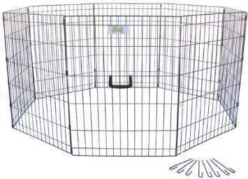 48 in. Pet Exercise Play Pen