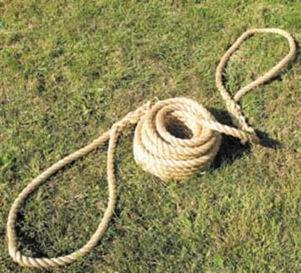 "50' 1"" Diameter Polyplus Traditional Tug of War Rope"