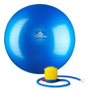 55 cm. Static Strength Exercise Stability Ball Blue