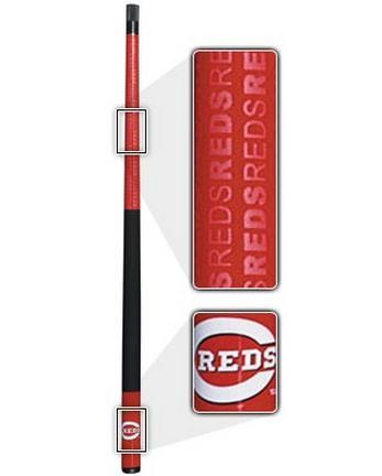 "57"" Cincinnati Reds MLB Team Logo 2 Piece Cue from Imperial International"