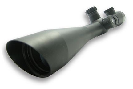6-24x50 Rifle Scope Green Illumination Rangefinder/AO/30 mm with Ring and Green Lens