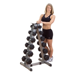 6 Pair Vertical Dumbbell Rack