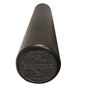 6 x 36 in. Foam Composite Extra Firm Round Roller - Black