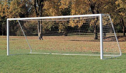 "6'6"" x 12' x 4' Soccer Nets - 1 Pair"