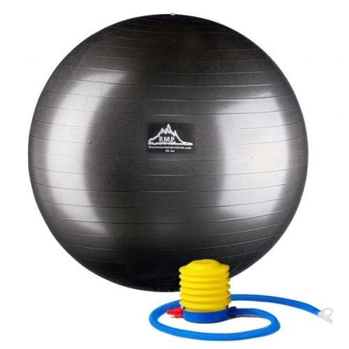 75 cm. Static Strength Exercise Stability Ball Blue