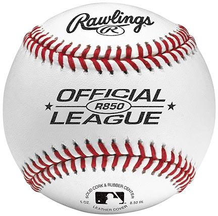 "8 1/2"" Junior Size Baseballs from Rawlings - One Dozen"