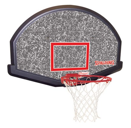 (80348) Basketball Backboard, Goal and Net Combo from Spalding