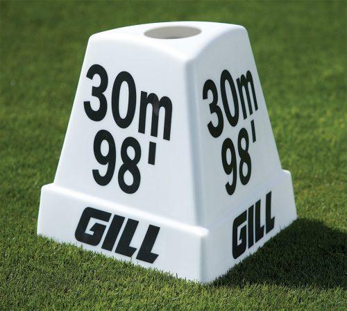 80m, 262' Pacer Distance Marker