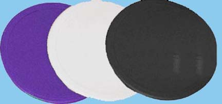 "9"" Purple Poly Spots - Set of 2 Dozen (24 Total)"