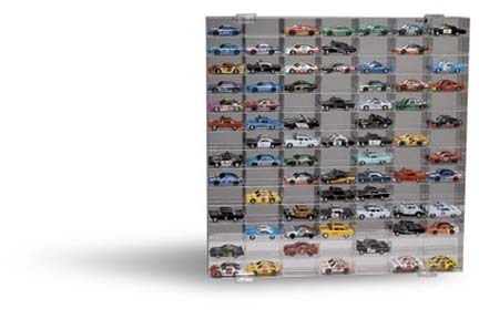 98 Slot 1/64 Scale Display Case from Clearwater Displays