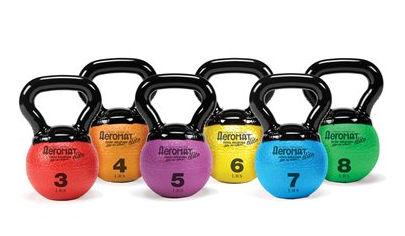 AGM Group 35852 Elite Mini Kettlebell Medicine Ball - Purple