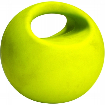 AGM Group 35900 4 Lb Grip Weight Ball - Yellow