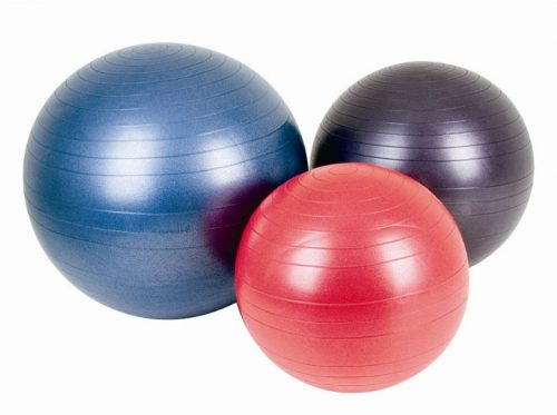 AGM Group 38101 21.65 in. Fitness Ball - Red