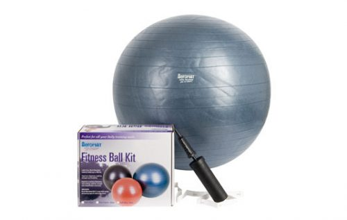 AGM Group 38113 75 cm Fitness Ball Kit - Dark Blue