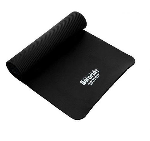 AGM Group 71522 23 in. Elite Dual Smooth Surface Ribbed Mat - Black