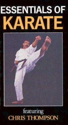 AV-EDU2000 754309083256 Essentials of Karate with Chris Thompson