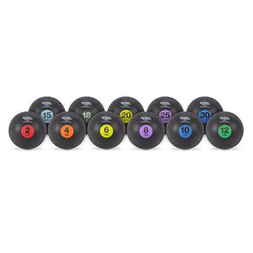 AeroMat 35183 8 lbs Extreme Elite Medicine Ball Purple