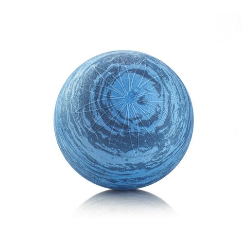 AeroMat 35260 6 in. Posture Ball Marble Blue
