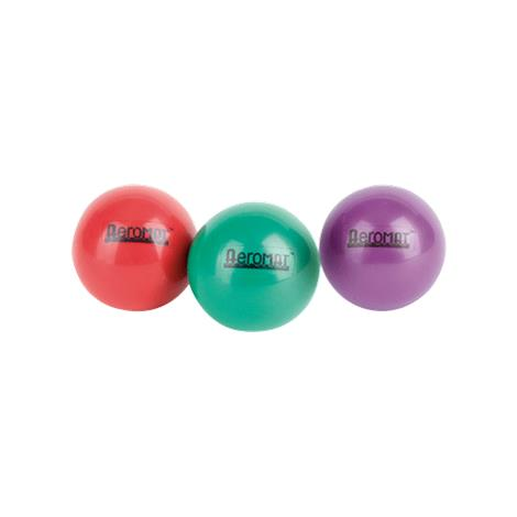 AeroMat 35919 3.6 in. Mini Weight Ball - Red 2 lbs & pack of 2