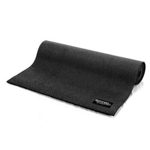 AeroMat 72203 0.12 x 24 x 68 in. Elite Yoga Mat Black