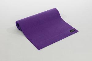 AeroMat 72302 0.25 x 24 x 72 in. Elite Yoga Pilates with Strap Pastel Purple