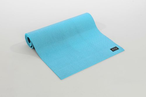 AeroMat 72303 0.25 x 24 x 72 in. Elite Yoga Pilates with Strap Pastel Teal