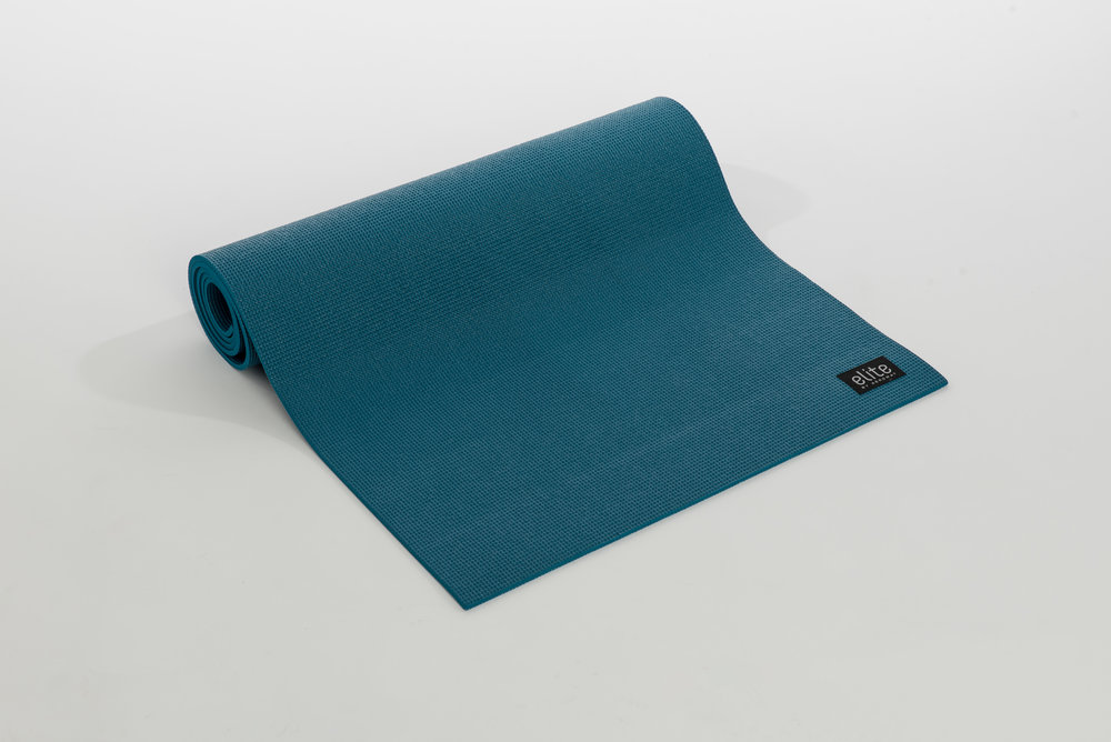 AeroMat 72314 0.25 x 24 x 72 in. Elite Yoga Pilates Teal