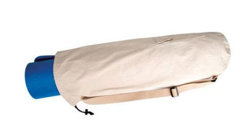 Aeromat 30106 28 in.D Fitness Mat Bag Khaki