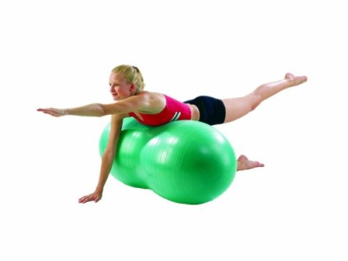 Aeromat 35245 Therapy Peanut Ball Burst Resistance 40 cm Green