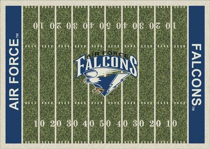 "Air Force Academy Falcons 3' 10"" x 5' 4"" Home Field Area Rug"