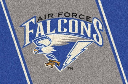 "Air Force Academy Falcons 3'10"" x 5'4"" Team Spirit Area Rug"