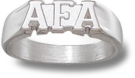 "Air Force Academy Falcons ""AFA"" Ladies' Ring Size 6 1/2 - Sterling Silver Jewelry"
