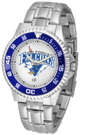 Air Force Academy Falcons Competitor Watch with a Metal Band
