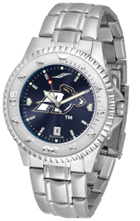 Akron Zips Competitor AnoChrome Men's Watch with Steel Band