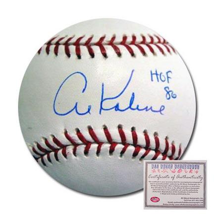 "Al Kaline Detroit Tigers Autographed Rawlings MLB Baseball with ""HOF 86"" Inscription"