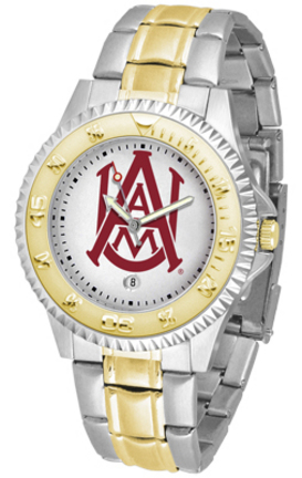 Alabama A & M Bulldogs Competitor Two Tone Watch