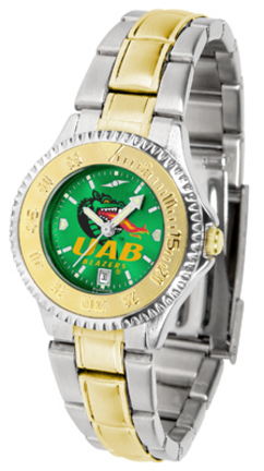 Alabama (Birmingham) Blazers Competitor AnoChrome Ladies Watch with Two-Tone Band