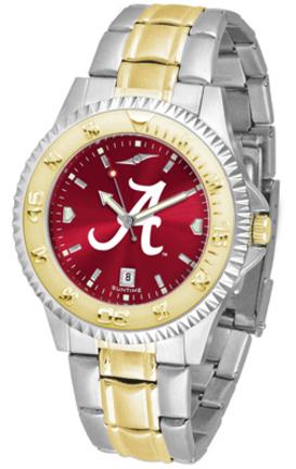 Alabama Crimson Tide Competitor AnoChrome Two Tone Watch