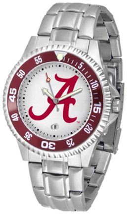 Alabama Crimson Tide Competitor Watch with a Metal Band